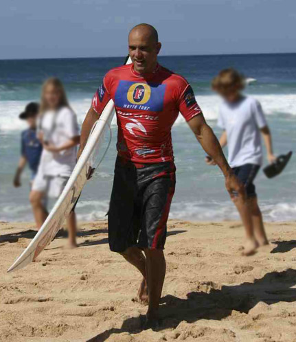 Kelly Slater after winning a heat by by soulsurfer3