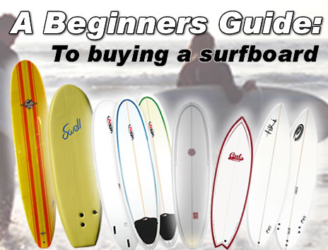 Beginners Guide for surfboards