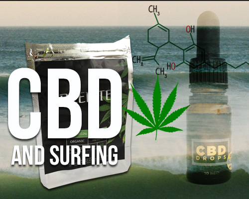 cbd and surfing graphic photo